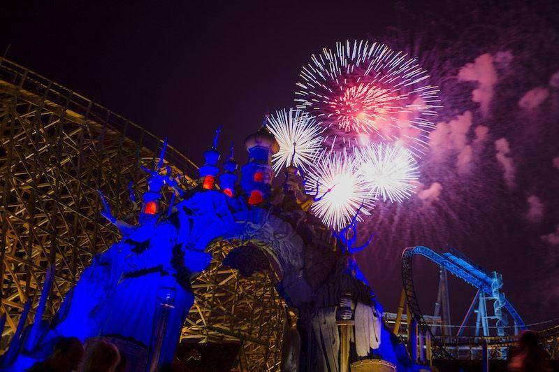 Gigantisches Feuerwerk zum Tag der Deutschen Einheit
