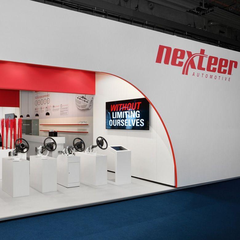 Nexteer-dynamische Markeninszenierung auf der IAA