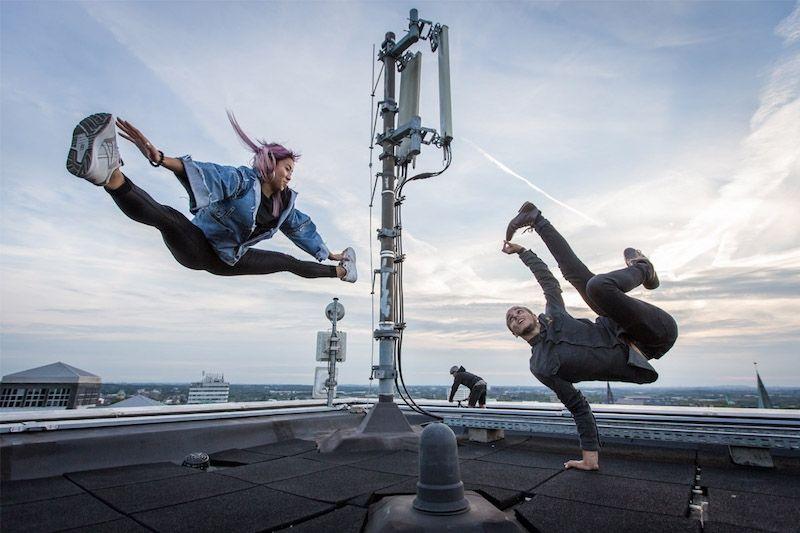URBANATIX – Grooftop: Akrobaten und Streetartisten erobern die Dächer des Ruhrgebiets