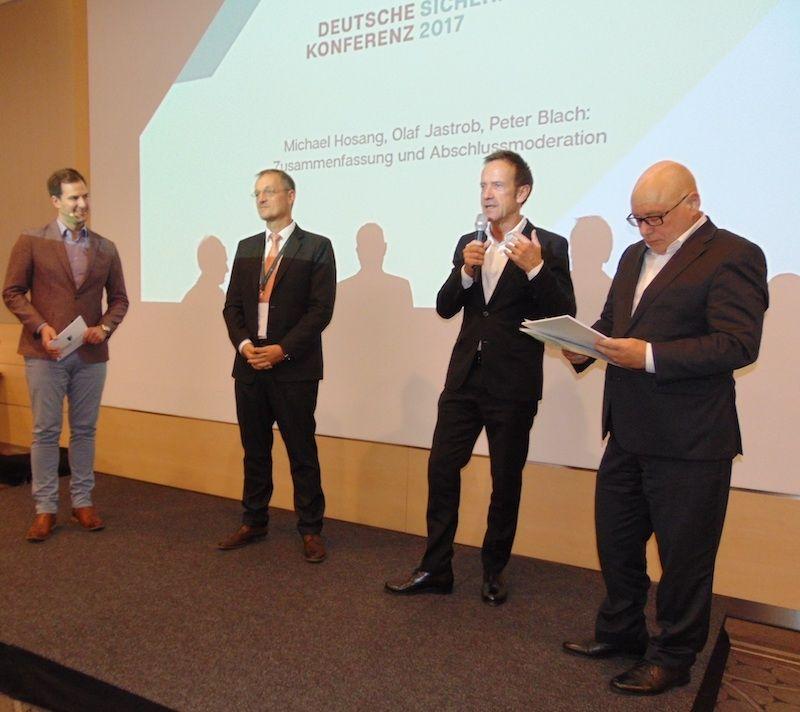 1. Deutsche Sicherheits-Konferenz erfolgreich - Folgekonferenz für 2018 geplant