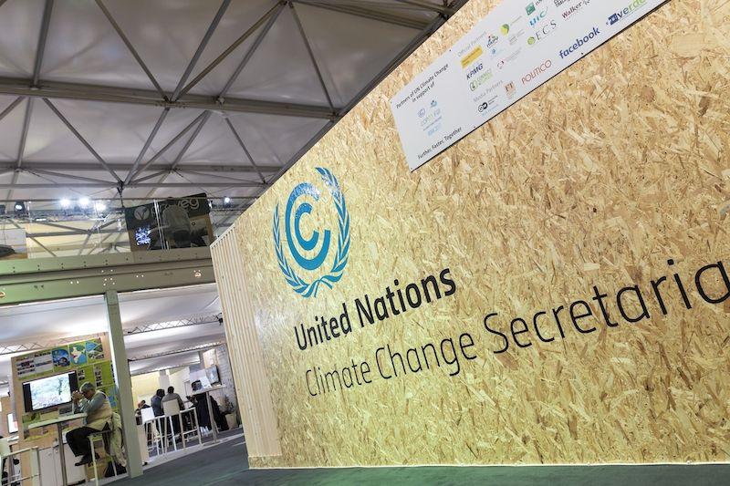 UN-Klimakonferenz in nachhaltigen temporären Eventlösungen