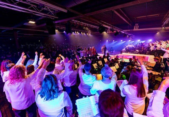 3.500 begeisterte Zuschauer beim Pop-Oratorium Luther