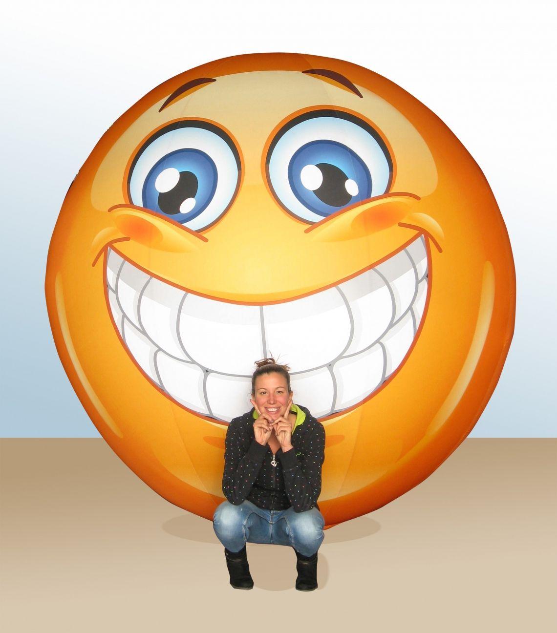 Humor lässt sich aufblasen