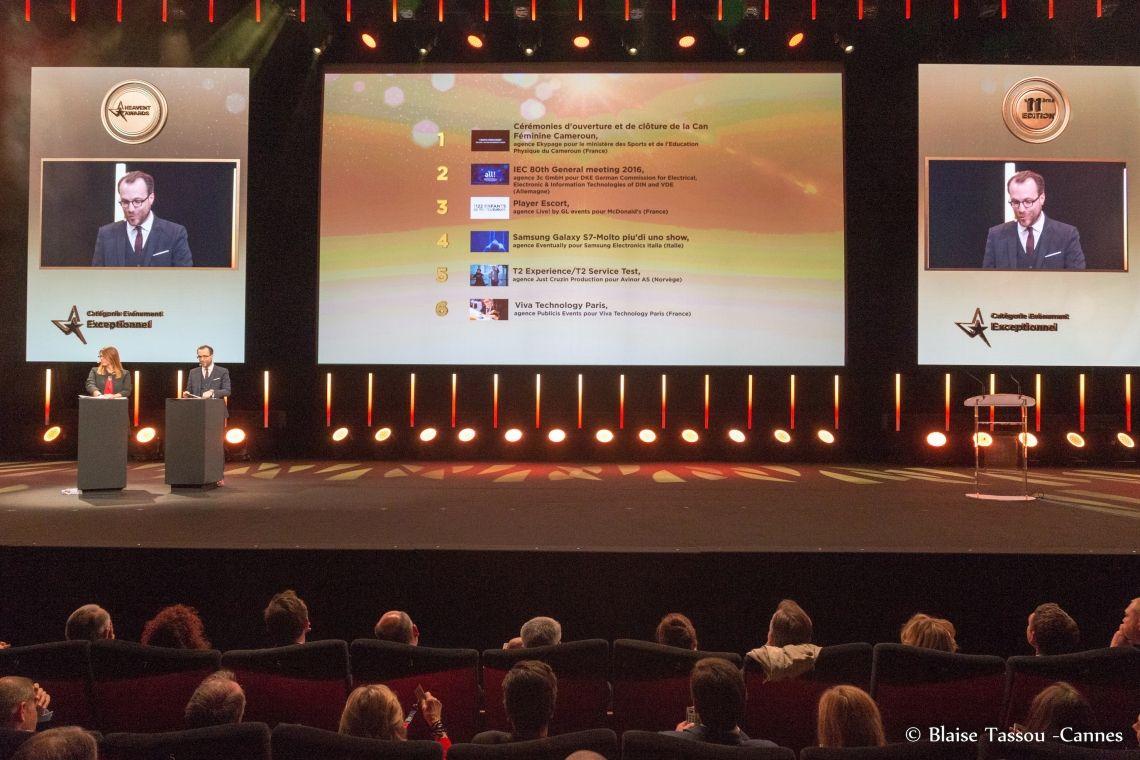 44 nominierte Events für die Heavent Awards Cannes