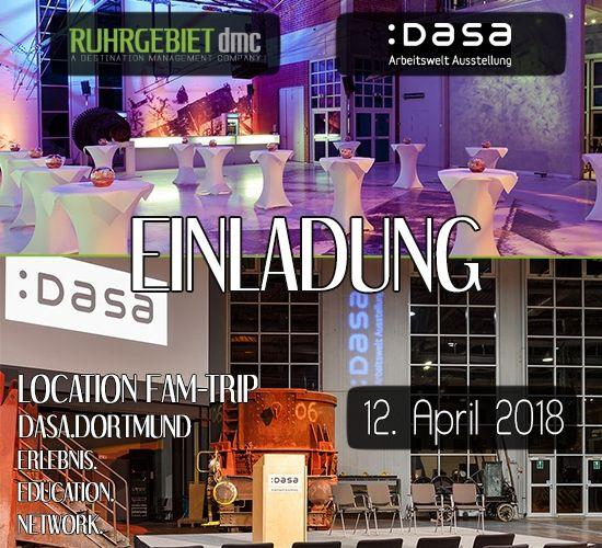 Einladung zum Educational Location-Fam-Trip Ruhrgebiet