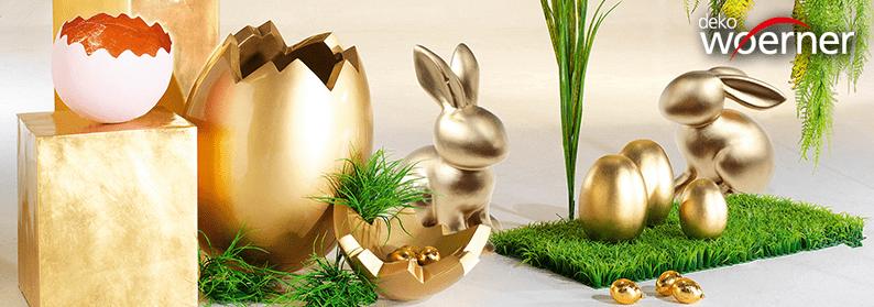 Ostern glänzt golden