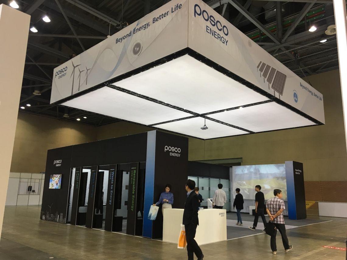 MILOS Xtruss verleiht der Korea Energy Show einen neuen Look