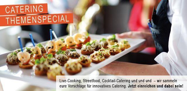Catering-Special auf memo-media - noch wenige Plätze zu vergeben!