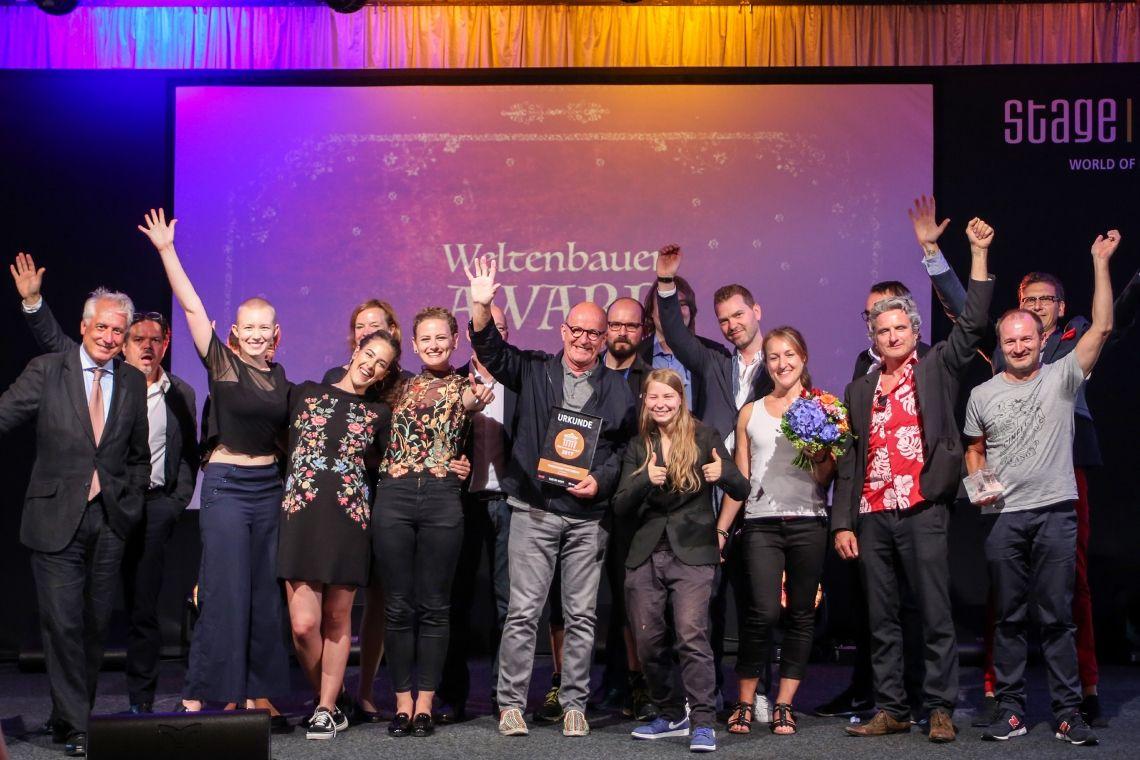 Weltenbauer.Youngsters.Awards 2019 sucht talentierten Branchennachwuchs im Bereich Theater, Film und Veranstaltungstechnik