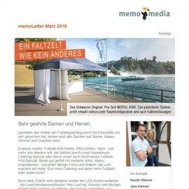 memoLetter 03-2018