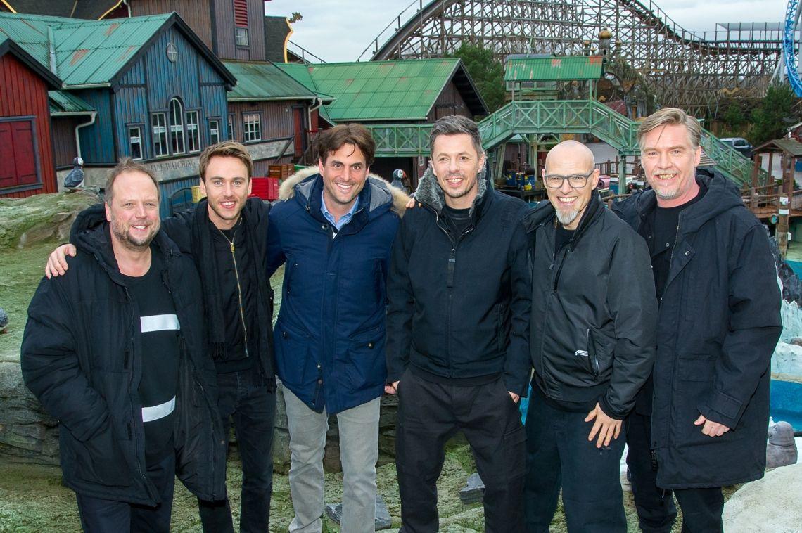 Videodreh im Europa-Park: Zusammen - Die Fantastischen Vier feat. Clueso