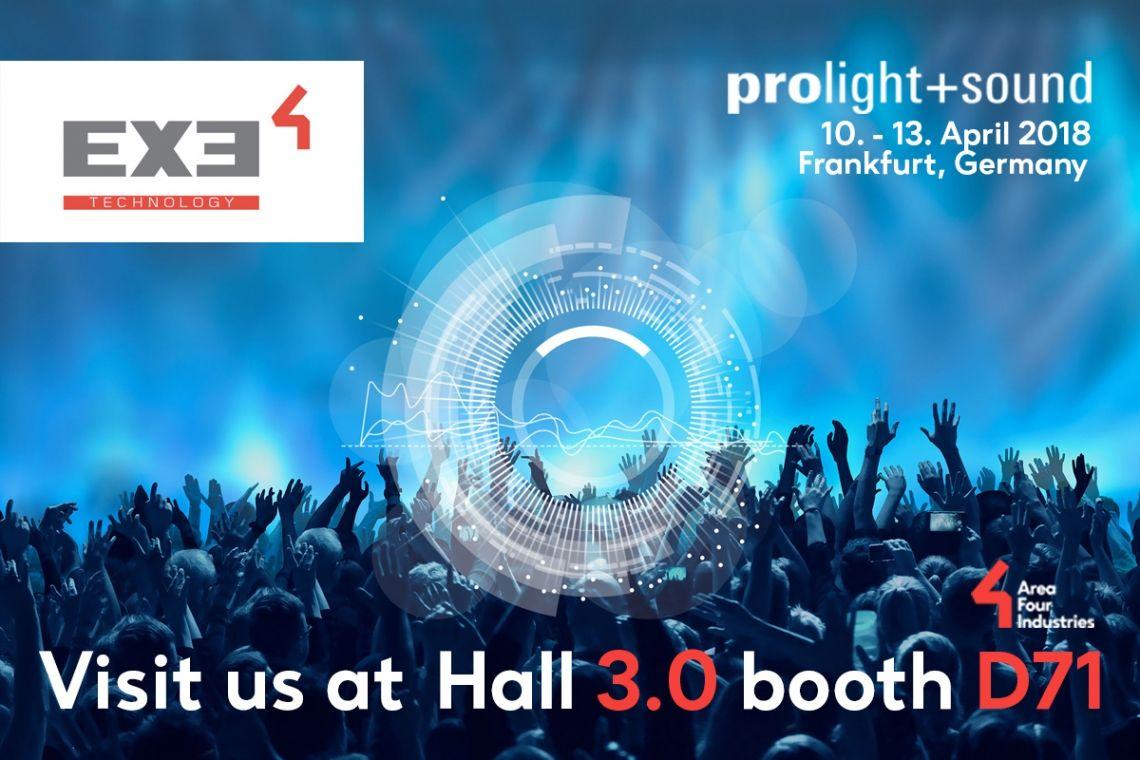 EXE-Technology auf der Prolight + Sound 2018