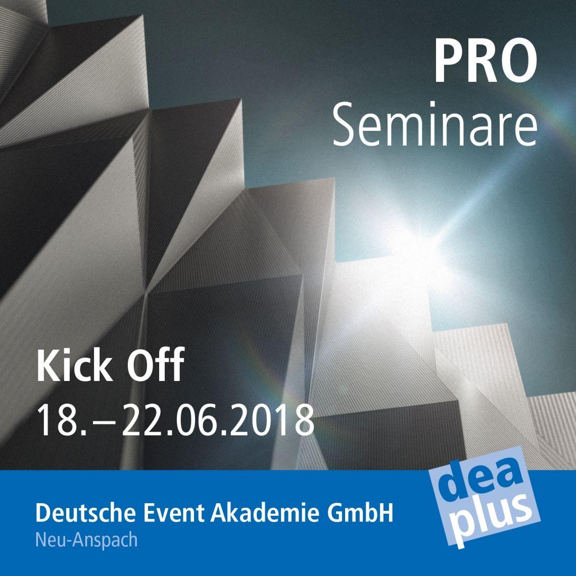 PROseminare - das neue Weiterbildungsformat made by DEAplus