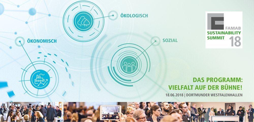 FAMAB-Sustainability Summit am 18. Juni 2018