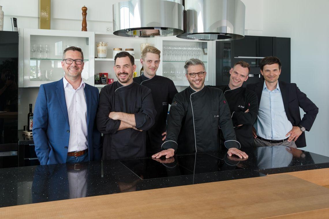 Kreativ Catering stellt neues Küchen-Kompetenz Team vor