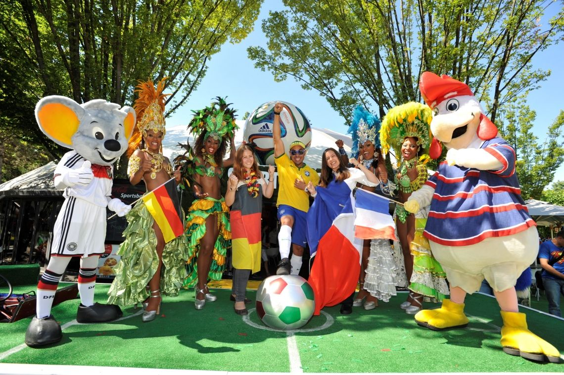 FIFA Fußball-Weltmeisterschaft live im Europa-Park