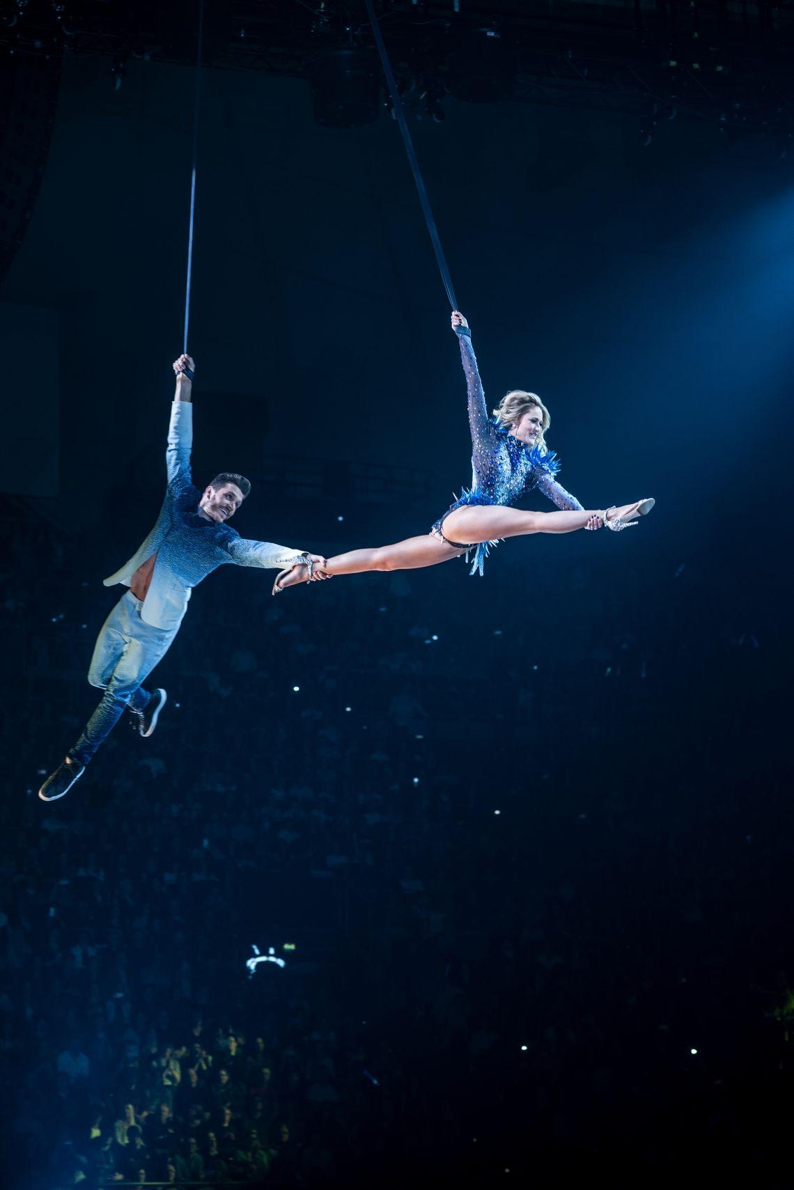 Der Cirque du Soleil und die Helene Fischer Show