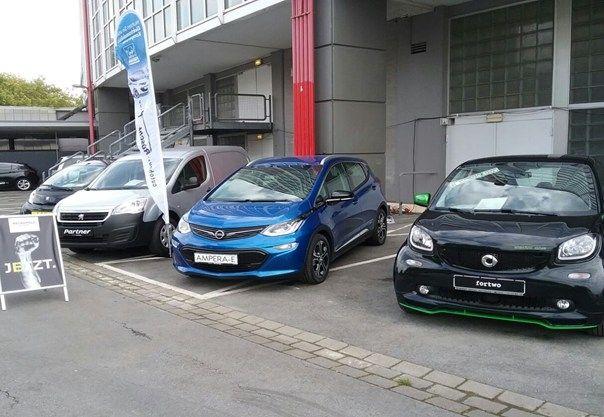RUHRGEBIET DMC setzt voll auf Elektromobilität für Events