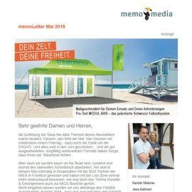 memoLetter 05-2018
