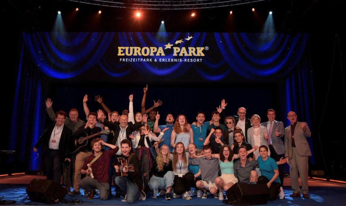 Junge Nachwuchsmusiker begeistern im Europa-Park