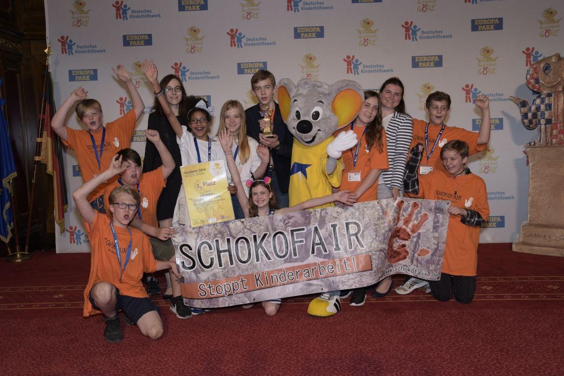 """""""SchokoFair – Stoppt Kinderarbeit!"""" gewinnt"""