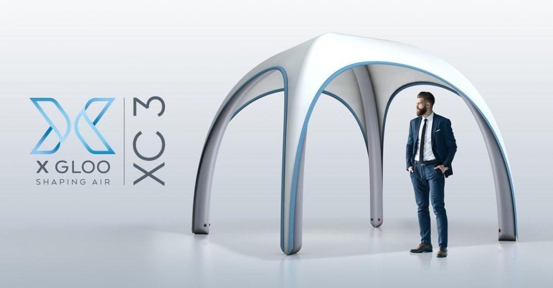 3X3M ZELT? – DAS NEUE XC 3 VON X GLOO!