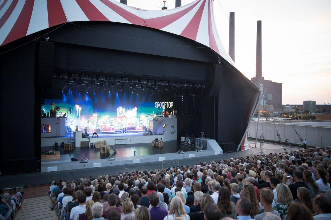 URBANATIX groovt und fasziniert beim weltgrößten Cirque-Nouveau-Festival