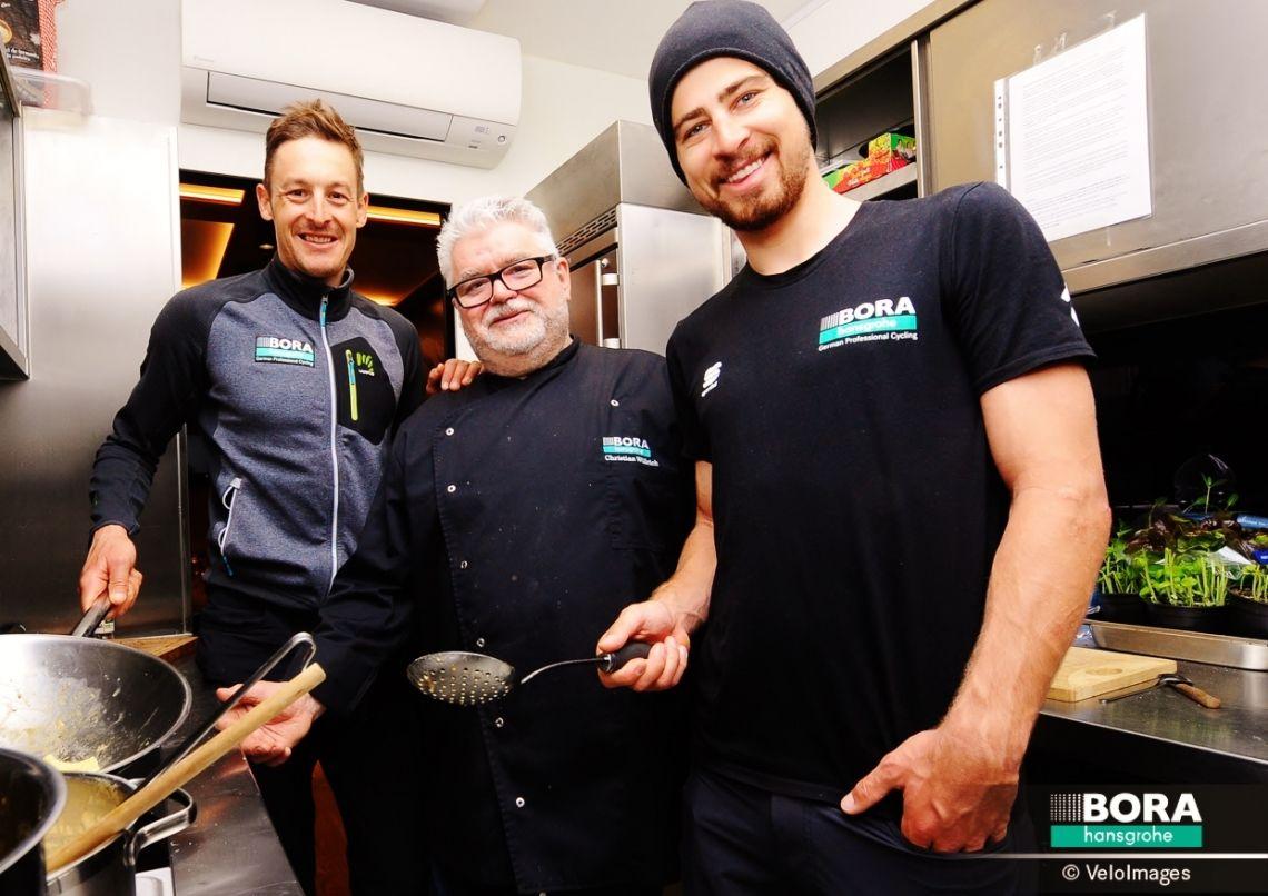 BROICH betreut das Team BORA-hansgrohe als offizieller Caterer das ganze Jahr über