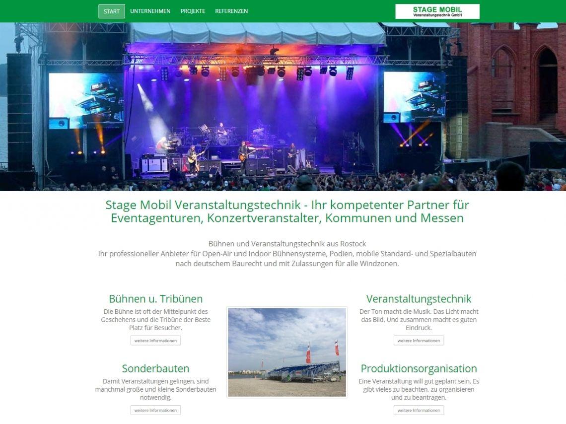 STAGE MOBIL startet mit neuer Web-Präsenz