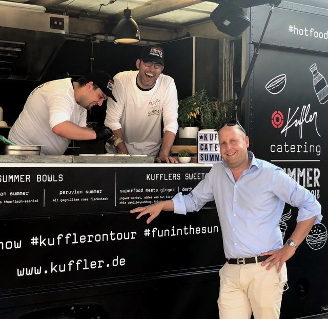 Kuffler Catering: Roadshow und drei neue Eventlocations