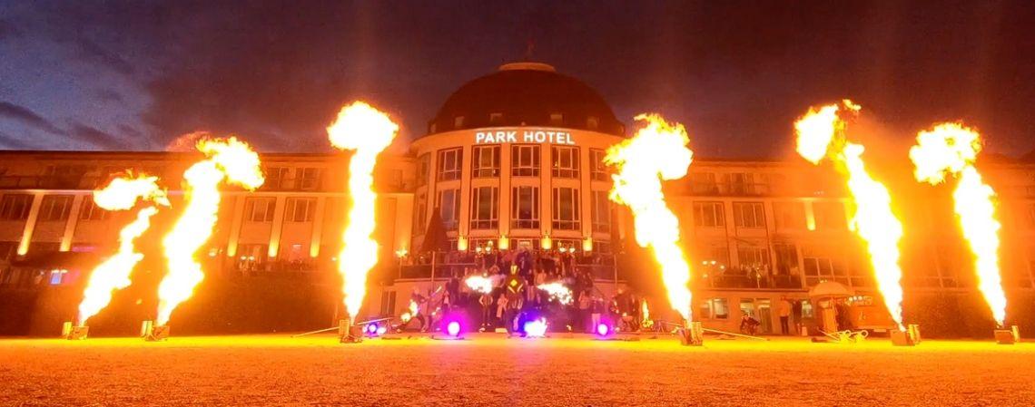 SPiCE setzt neue Flammenprojektoren zur Showbegleitung ein