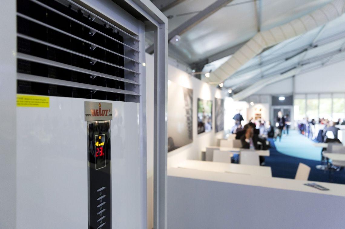 Helot sorgt für gutes Klima bei der ILA Berlin