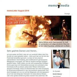 memoLetter 08-2018