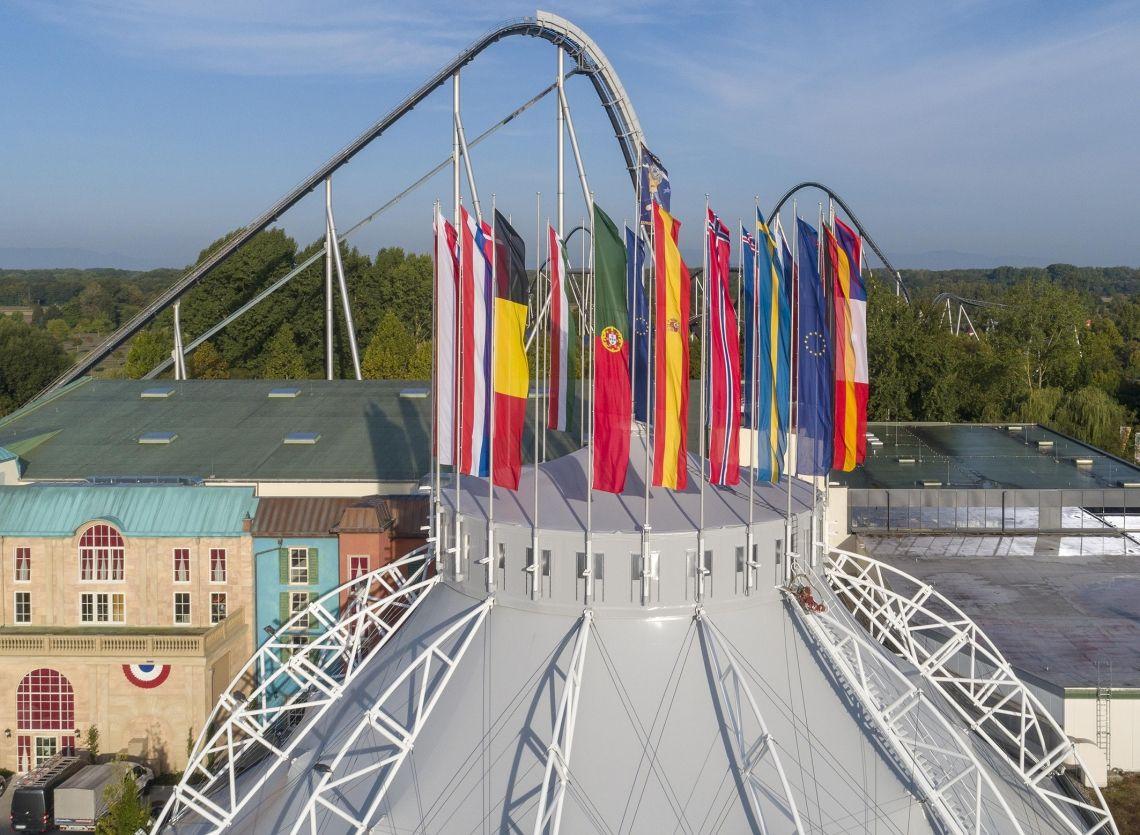 Der Europa-Park Dome vom Schweizer Star-Architekten Mario Botta