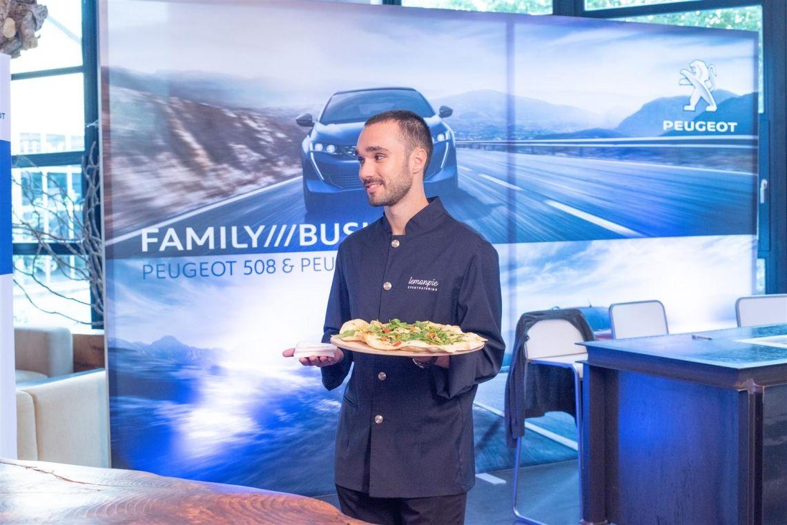 """lemonpie bringt für Peugeot kulinarisches """"Savoir-vivre"""" in die Alte Tuchfabrik"""