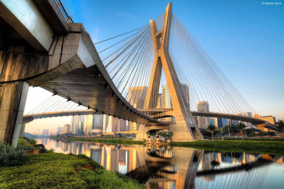 Frankfurt – Sao Paulo: hin und zurück in 185 Millisekunden.