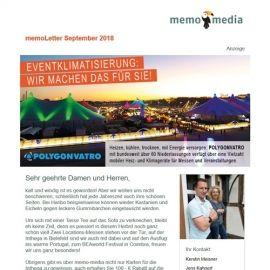 memoLetter 09-2018