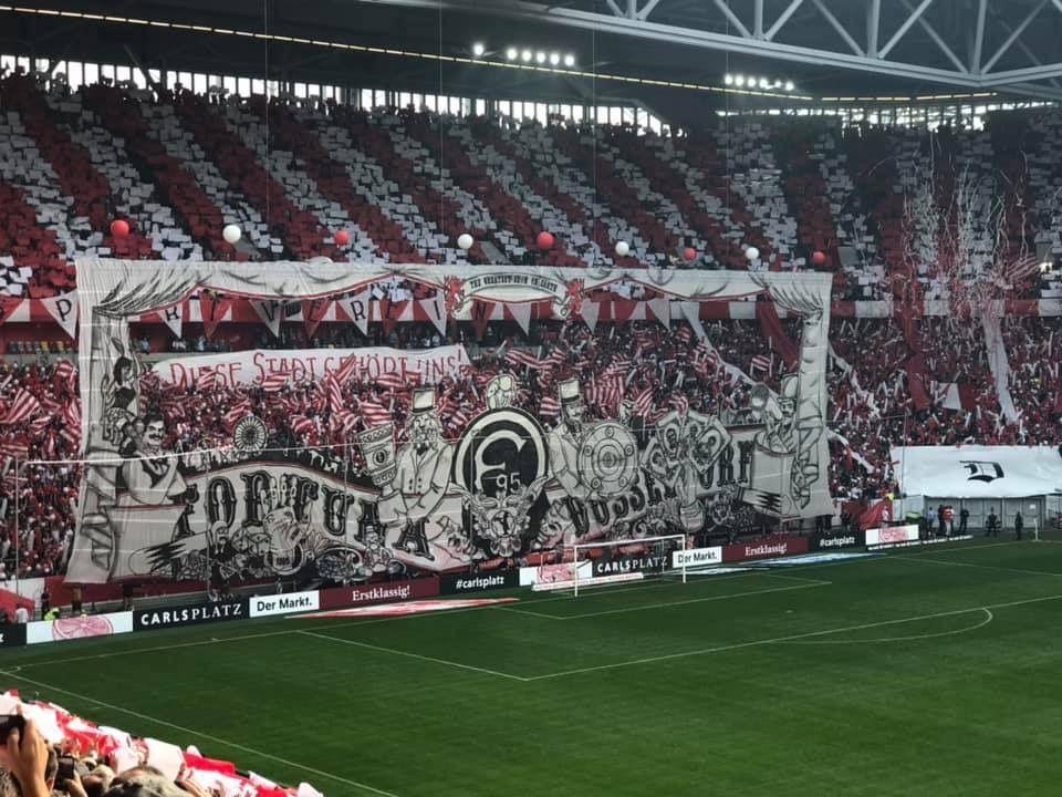 Fortuna Düsseldorf Fans setzen auf C1 Systeme von Aventem