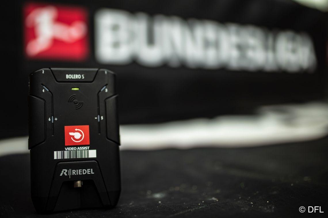 BOLERO S für DFL-Schiedsrichterfunk