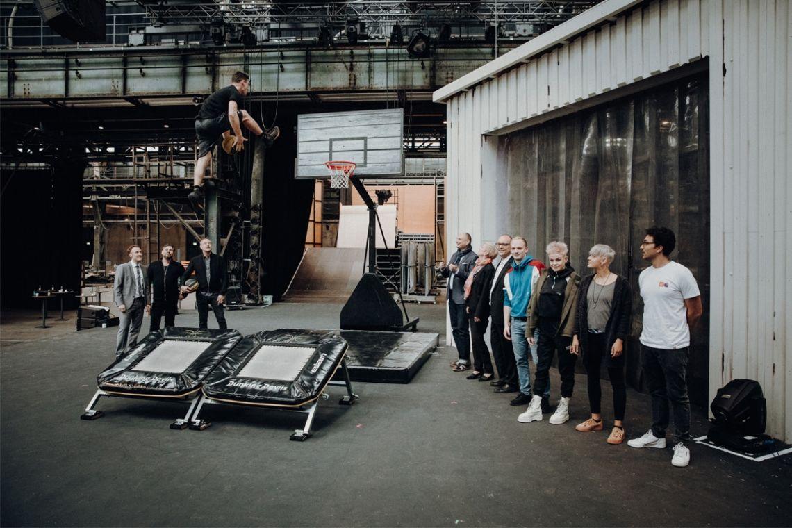 """""""URBANATIX – ROAD TRIP"""" mit 22 STOPS in der Jahrhunderthalle Bochum"""