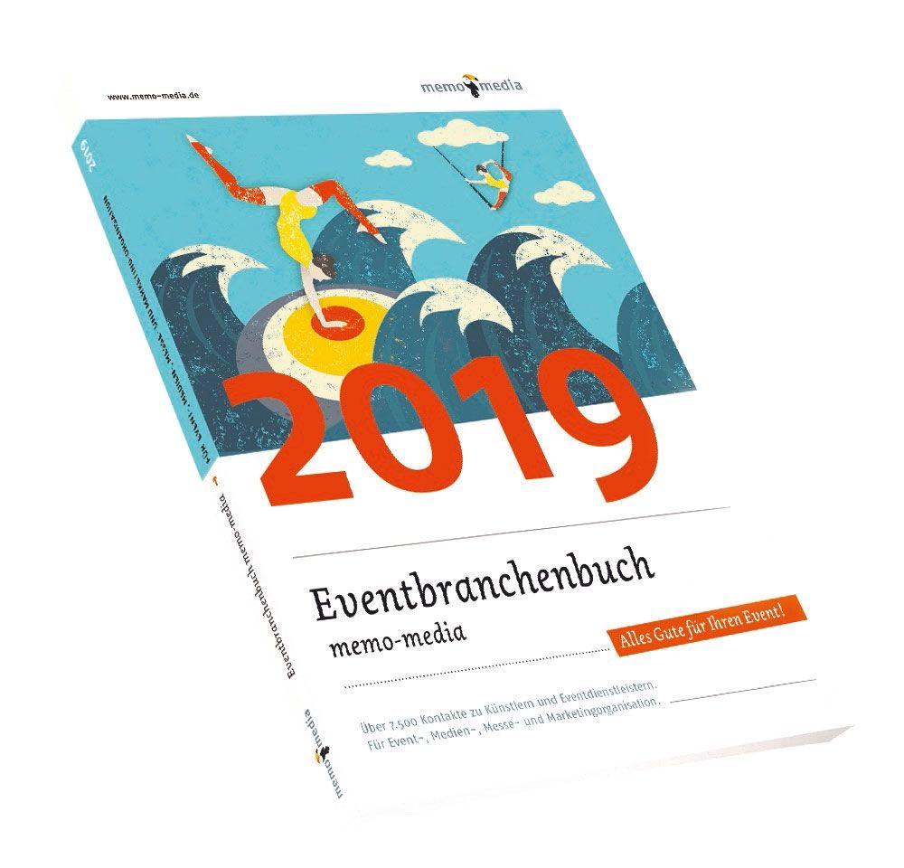 memo-media Verlags-GmbH bietet erste Einblicke in das Eventbranchenbuch 2019