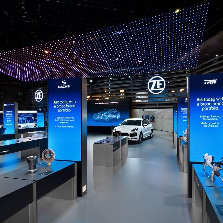 ZF – das neue Erscheinungsbild erstmals auf der Automechanik