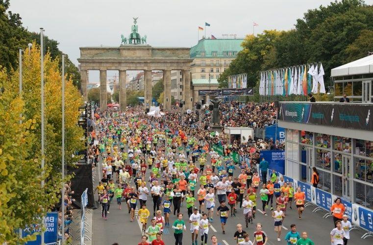 Neuer Weltrekord beim BMW Berlin-Marathon