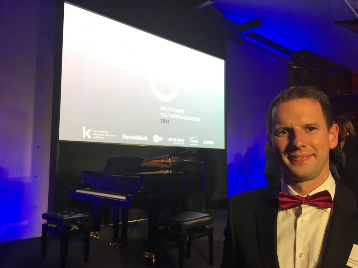 Deutscher Kulturförderpreis 2018 – memo-media unter den Nominierten