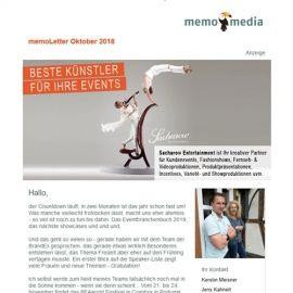 memoLetter 10-2018