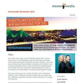 memoLetter 11-2018