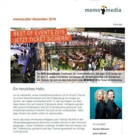 memoLetter 12-2018