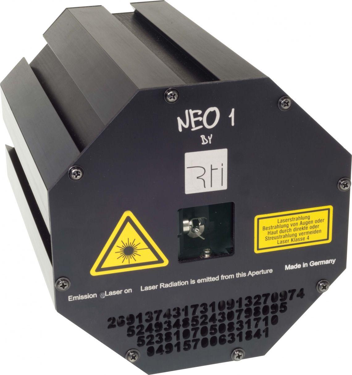 Modulare RTI NEO ONE Lasersysteme vorgestellt