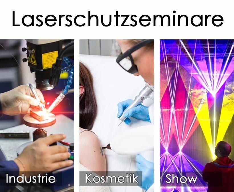 Laserschutzbeauftragter werden! Neue Seminartermine 2019