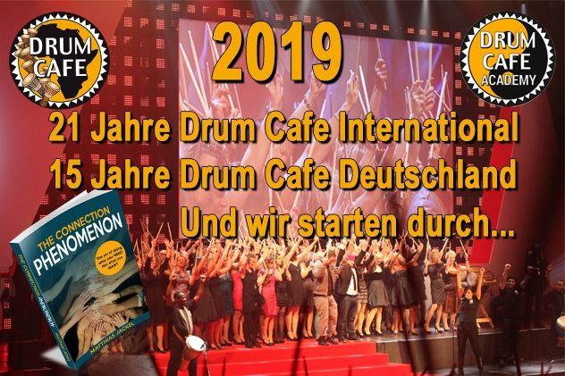Drum Cafe Jubiläum und Präsentation des erweiterten Portfolio für Ihre Veranstaltungen